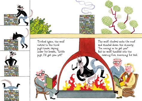 libro the three little pigs the three little pigs guarnaccia corraini edizioni