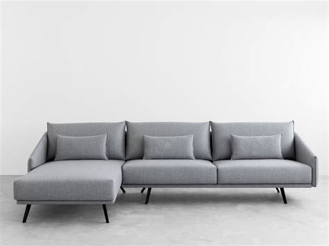 chaiselongue sofa costura sofa with chaise longue costura collection by stua