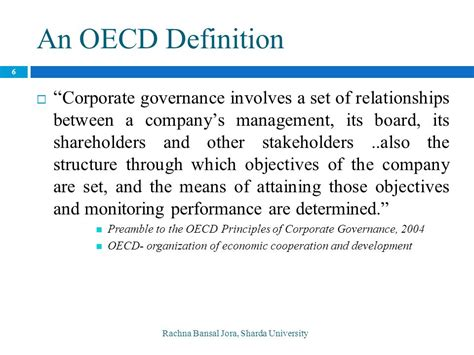 world bank definition of governance corporate governance rachna bansal jora ppt