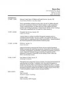 best sample social work resumes resume template example