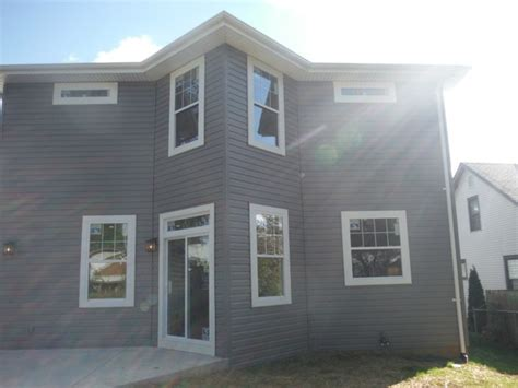 Charcoal Grey Siding - certainteed charcoal gray vinyl siding brentwood mo