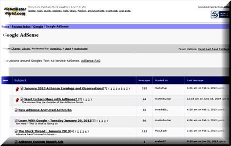 adsense forum top 3 google adsense forums webnots