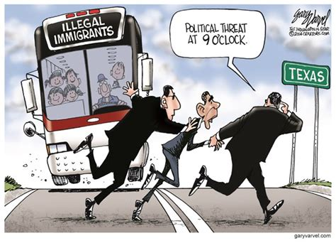 political cartoon about illegal immigration understanding fiscal responsibility 187 blog archive