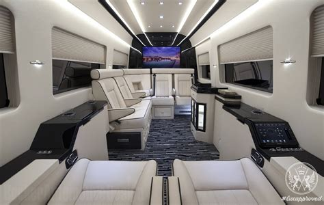 Mercedes Sprinter Custom Interior by Becker Automotive Design Refits Mercedes Sprinter