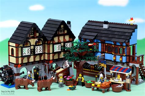 Lego 10193 Market jual lego 10193 castle market all about