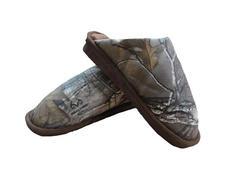 camo house shoes men s slippers camo realtree mule camouflage comfy warm shooting hunting rrp 25