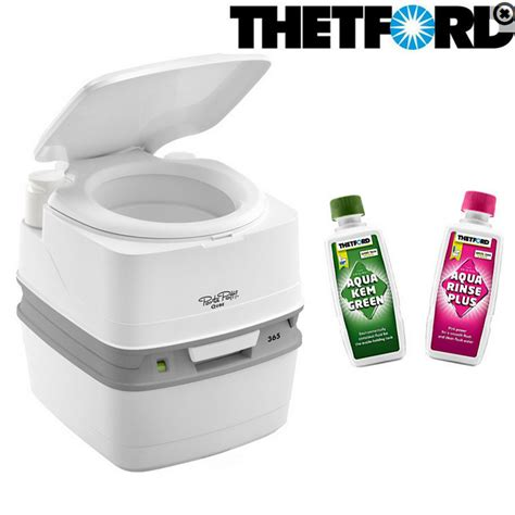 toilette chimique thetford wc chimique porta potti qube 365 thetford
