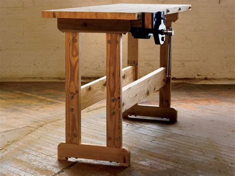 make a woodworking bench how to build a workbench simple diy woodworking project