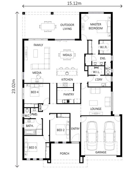 avoca lewis homes plan range
