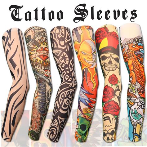 temporary tattoos tribal 10pc temporary sleeves
