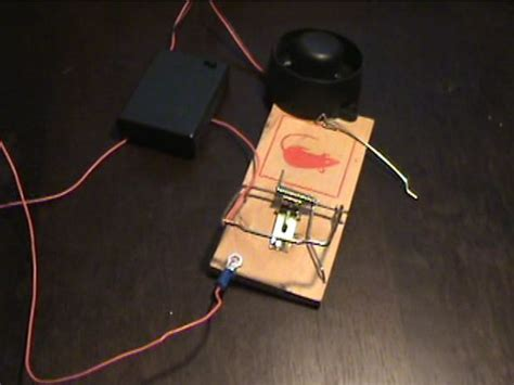 rat trap alarm system 4 steps