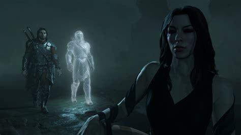anneau unique sauron forme humaine et sauron forme il test la terre du milieu l ombre de la guerre playstation
