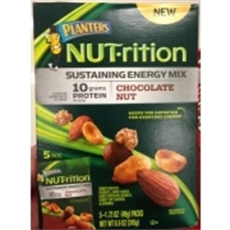 Planters Nutrition Energy Mix by Planters Nut Rition Sustaining Energy Mix Chocolate Nut