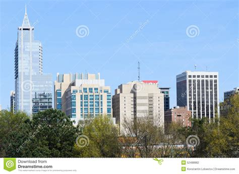 view on downtown raleigh nc stock photo image 52488882