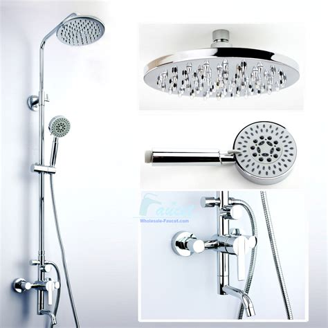 Bathroom Shower Plumbing Single Handle Wall Mounted Shower Kit Yl02 Wholesale Faucet E Commerce