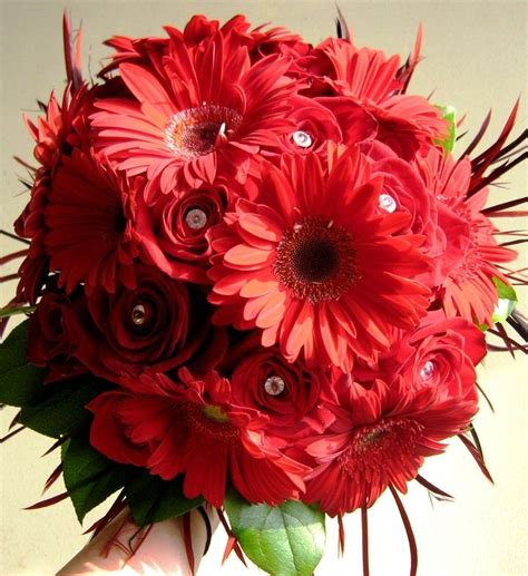 Ideas For Gerbera Flowers Gerbera Wedding Decorations Bridal Bouquet With Gerbera Daisies And