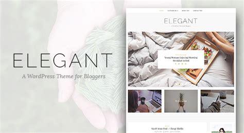 theme blog elegant elegant simple and minimal wordpress blog themes