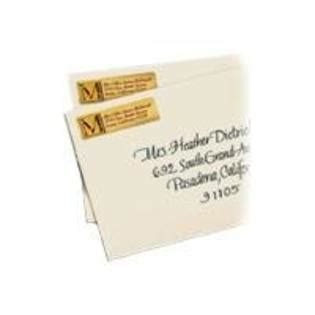 avery foil mailing labels 3 4 x 2 avery ave8987 foil mailing labels 3 4 x 2 1 4 gold 300 pack