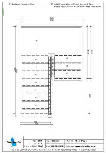 How To Draw Stairs In A Floor Plan Half Landing Staircase Layout Stairs