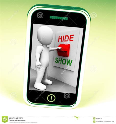 scow meaning show hide switch means conceal or reveal stock