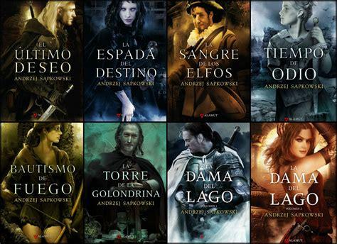libro la saga de los orden de lectura de la saga de libros de geralt de rivia las novelas de the witcher