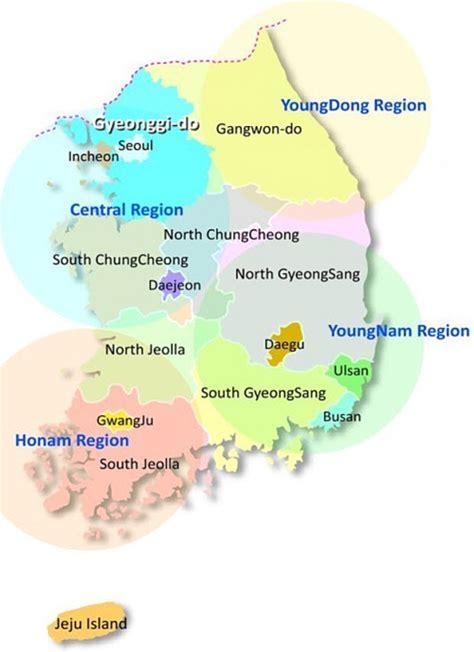 makanan khas  berbagai daerah  korea makanan korea