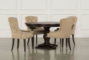 Living Spaces Dining Room Sets Jefferson 5 Extension Dining Set Living Spaces