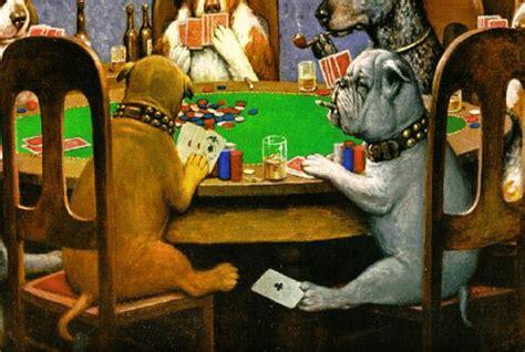 imagenes de animales jugando poker 10 datos esenciales de la pintura quot perros jugando p 243 ker