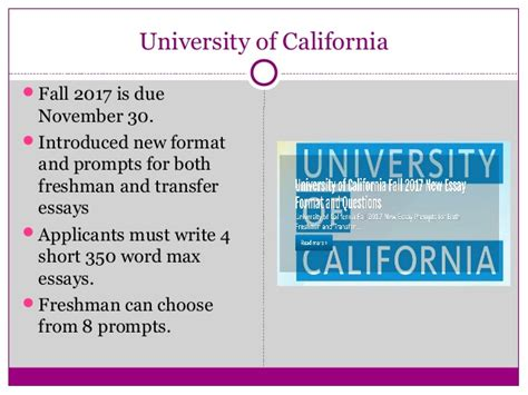 U Of O Admissions Essay by Start Early And Write Several Drafts About Uc Application Essay Prompts 2017