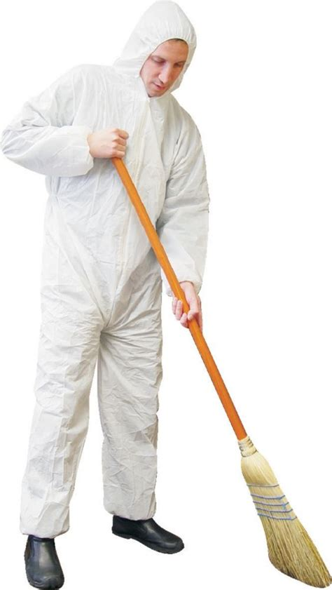 Workhorse Disposable Coverall White With The Home