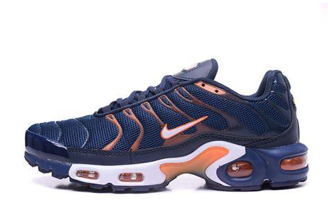 orange and blue sneakers style nike air max tn ultra plus navy blue orange