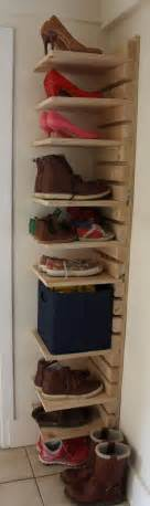 diy shoe shelves best 25 diy shoe rack ideas on shoe shelf diy shoe rack and shoe rack pallet