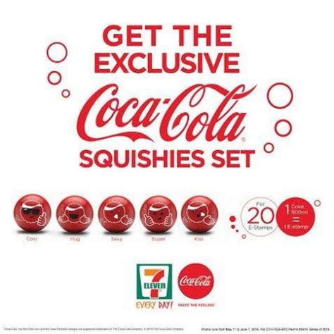 Free Squishies Giveaway - coca cola get expressive with promotional squishies