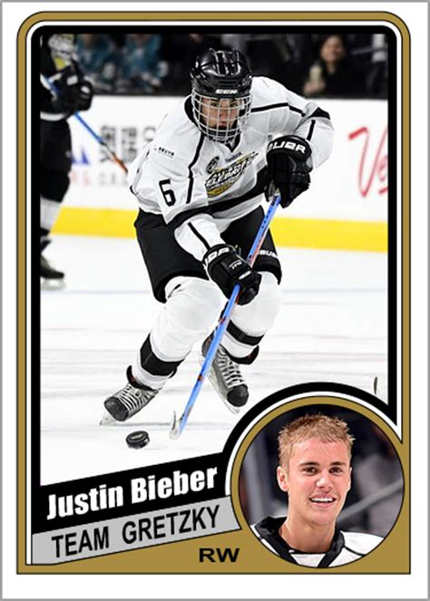 how to make a hockey card justin bieber custom hockey cards puck junk
