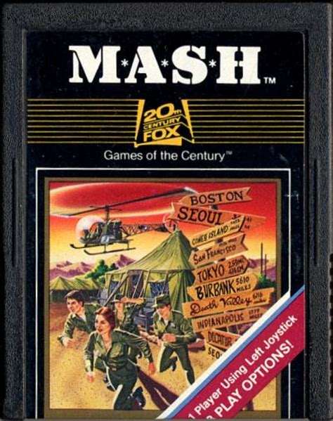 mash layout game atari 2600 vcs m a s h scans dump download