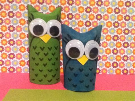 How To Make Owls Out Of Toilet Paper Rolls - diy toilet paper roll owls