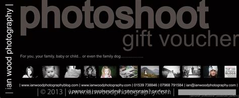 photoshoot gift certificate template wedding presents and gift vouchers 187 ian wood photography