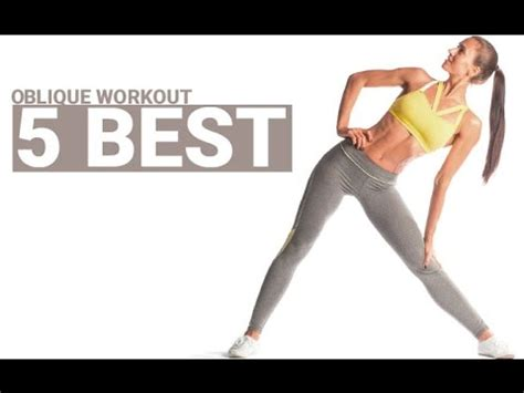 obliques workout for 5 best at home
