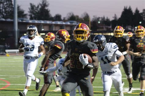 central coast section football menlo atherton high school football wins central coast
