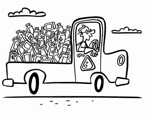 coloring pages for recycle reduce reuse recycle coloring page coloring home