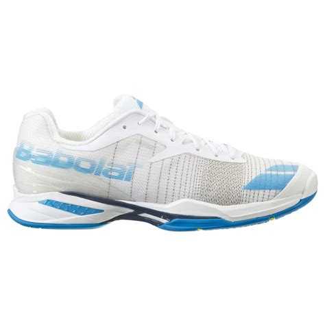 white tennis shoes babolat jet ac mens tennis shoes footwear 2016 white blue