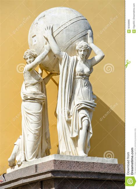 figure carrying 3d figures carrying monetary cogs stock photo