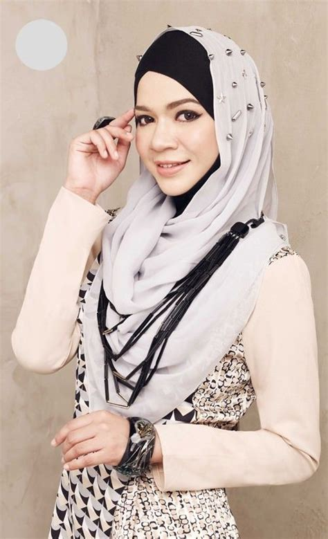 tutorial hijab gaya diana amir 1000 images about simple and cute hijab on pinterest