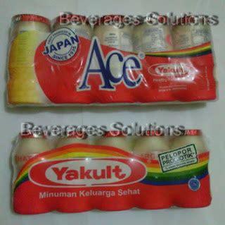 Minuman Kesehatan Keluarga Yakult beverages solutions yakult ace produk premium dengan 30