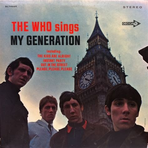 who sings my who the who sings my generation decca lp vinyl record 中古
