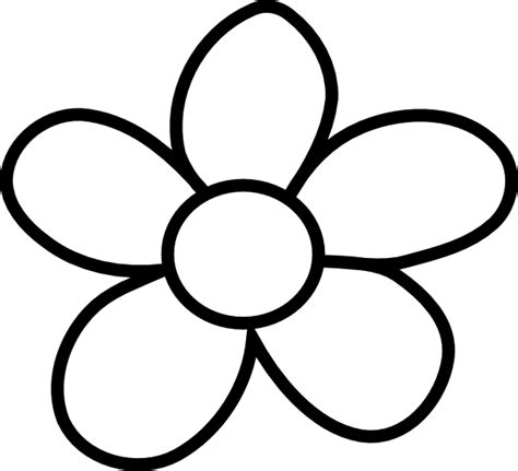 black and white clip black and white flower clip cliparts