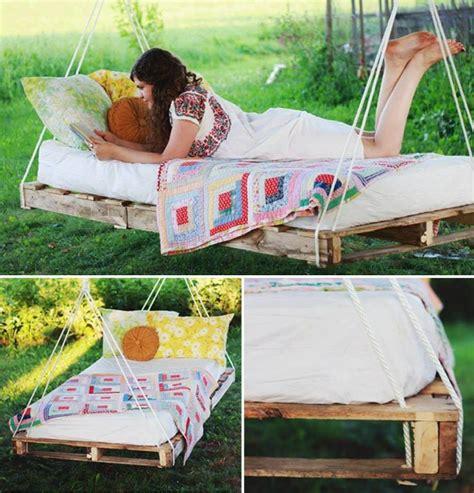 hanging pallet bed hanging pallet bed diy cozy home