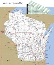 State Map Of Wisconsin by Large Detailed Map Of Wisconsin With Cities And Towns