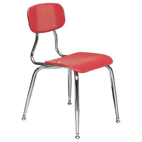plastic school chairs scholar craft 150 series solid plastic classroom chair at