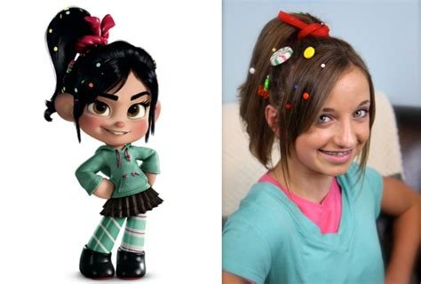 hairstyles costume wreck it ralph hairstyle tutorial a cutegirlshairstyles